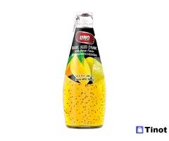 Экзотические эксклюзивные напитки из Тайланда UNO BASIL SEED (Напитки с семенами базилика УНО БАЗИЛ