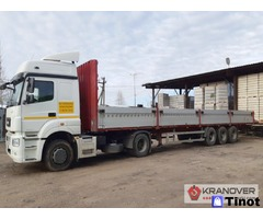 Аренда открытого грузового авто 15 тонн