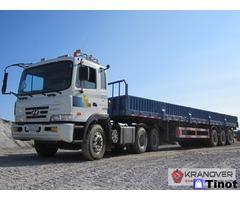 Аренда открытого грузового авто 20 тонн