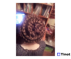Прически, плетение кос, макияж