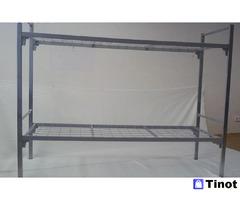 Металлические кровати для турбаз, кровати железные