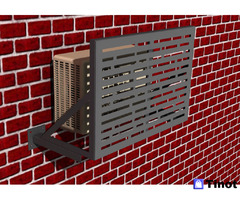 Изготовление коробов внешнего блока кондиционера (фасадная корзина, ящик, короб наружного блока)