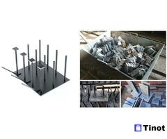 Производство закладных деталей на установке лазерной резки