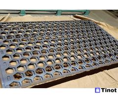 Сита (трафарет) для грохотов - вибрационное решето