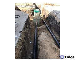 Строительство наружных водопроводов, канализаций