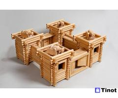Производство деревянных конструкторов на заказ.